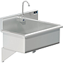 BLANCO 28 X 16 SCRUB UP SINK WALL W / SENSOR FAUCET