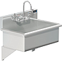 BLANCO 28 X 16 SCRUB UP SINK WALL W / WRIST BLADE HANDLES