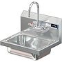 COMAL 14 X 10 X 5 HANDSINK WITH WALL FAUCET