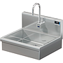 BRAZOS 20 x 15 x 5 HANSINK WITH WALL SENSOR FAUCET