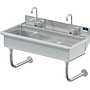 BLANCO 2 STATION X 40 W / DECK MT ELECTRONIC FAUCETS